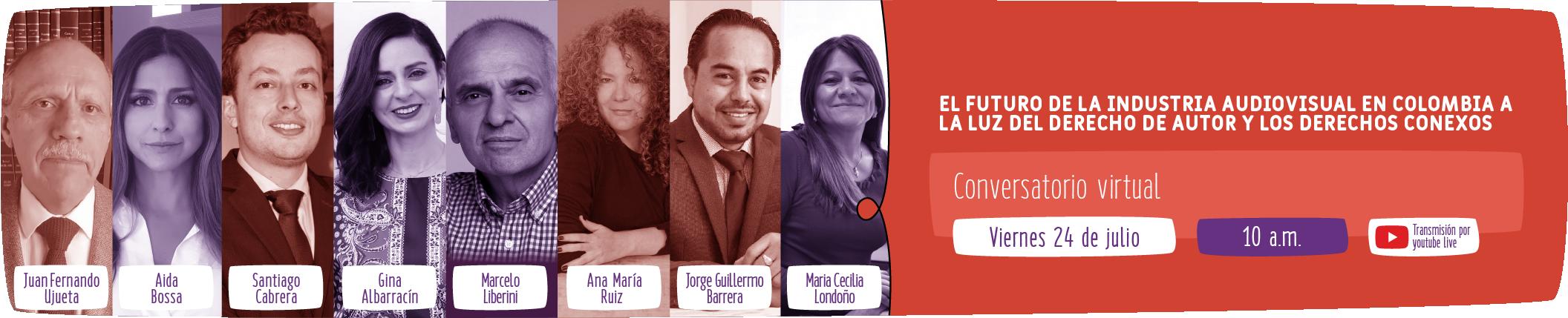Evento Actores Sociedad Colombiana de Gestión Aniversario 10 años
